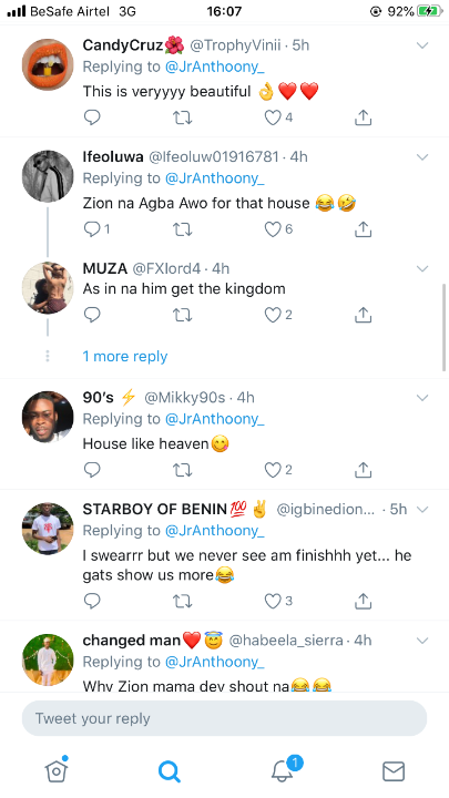 Wizkid Fans Happy As He Shows More Glimpse Of His House (Photos) 7
